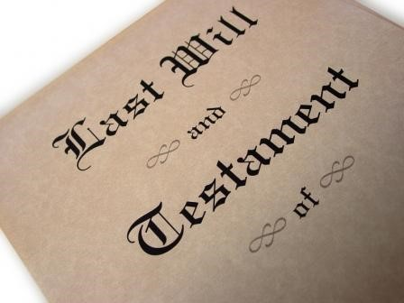 A Will can make sure your estate is handled the way you want.